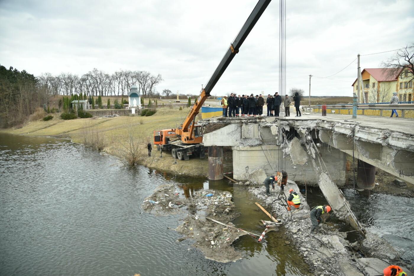 Міністр інфраструктури України оглянув аварійний міст у Лисівцях (фото), фото-1