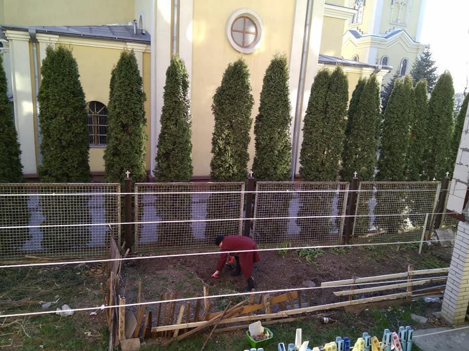 Садять картоплю і розводять вогонь: тернополянка нарікає, що сусіди облаштували під вікнами будинку город (Фото), фото-1
