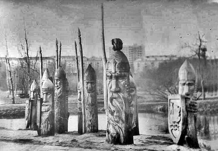 33 богатирі, 7 гномів та Змій-Горинич: яким колись був тернопільський гідропарк (Фото), фото-3