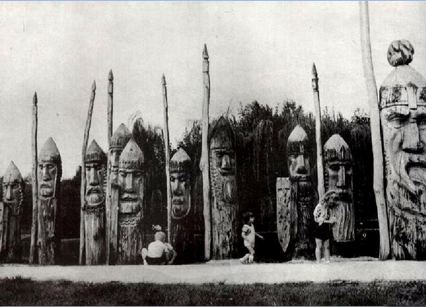 33 богатирі, 7 гномів та Змій-Горинич: яким колись був тернопільський гідропарк (Фото), фото-5
