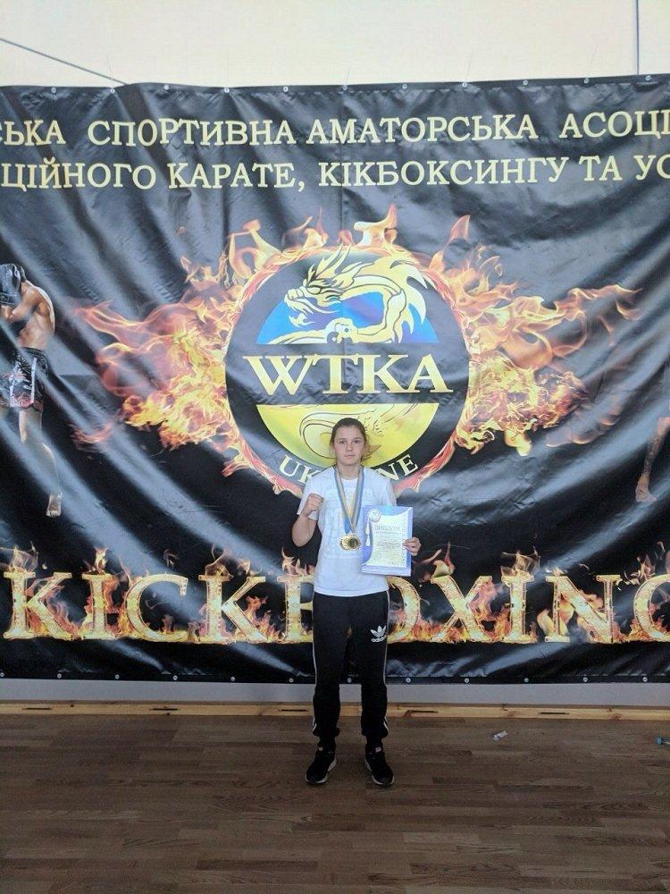 """Подвійний успіх тернопільської спортсменки: юна кікбоксерка привезла додому два """"золота"""" (ФОТО), фото-1"""