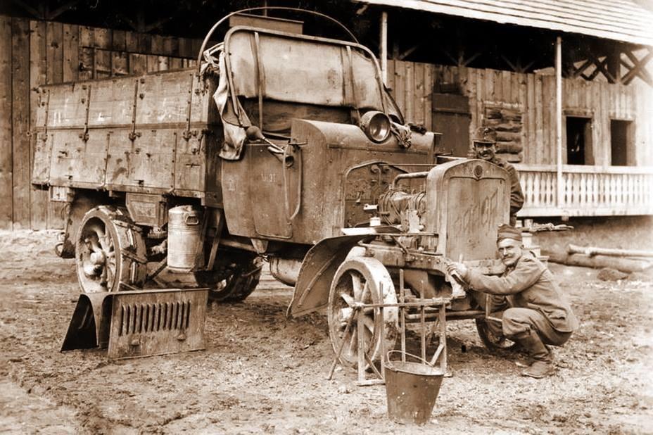 У соціальну мережу потрапило найдавніше фото ДТП  на Тернопільщині, яка трапилась ще у в 1914-1918 роках (ФОТО), фото-2