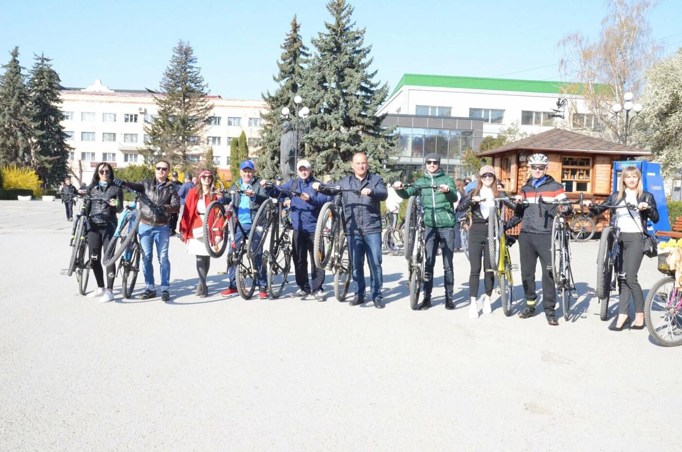 На Тернопільщині чиновники змінили свої автомобілі на велосипеди (ФОТОФАКТ), фото-20