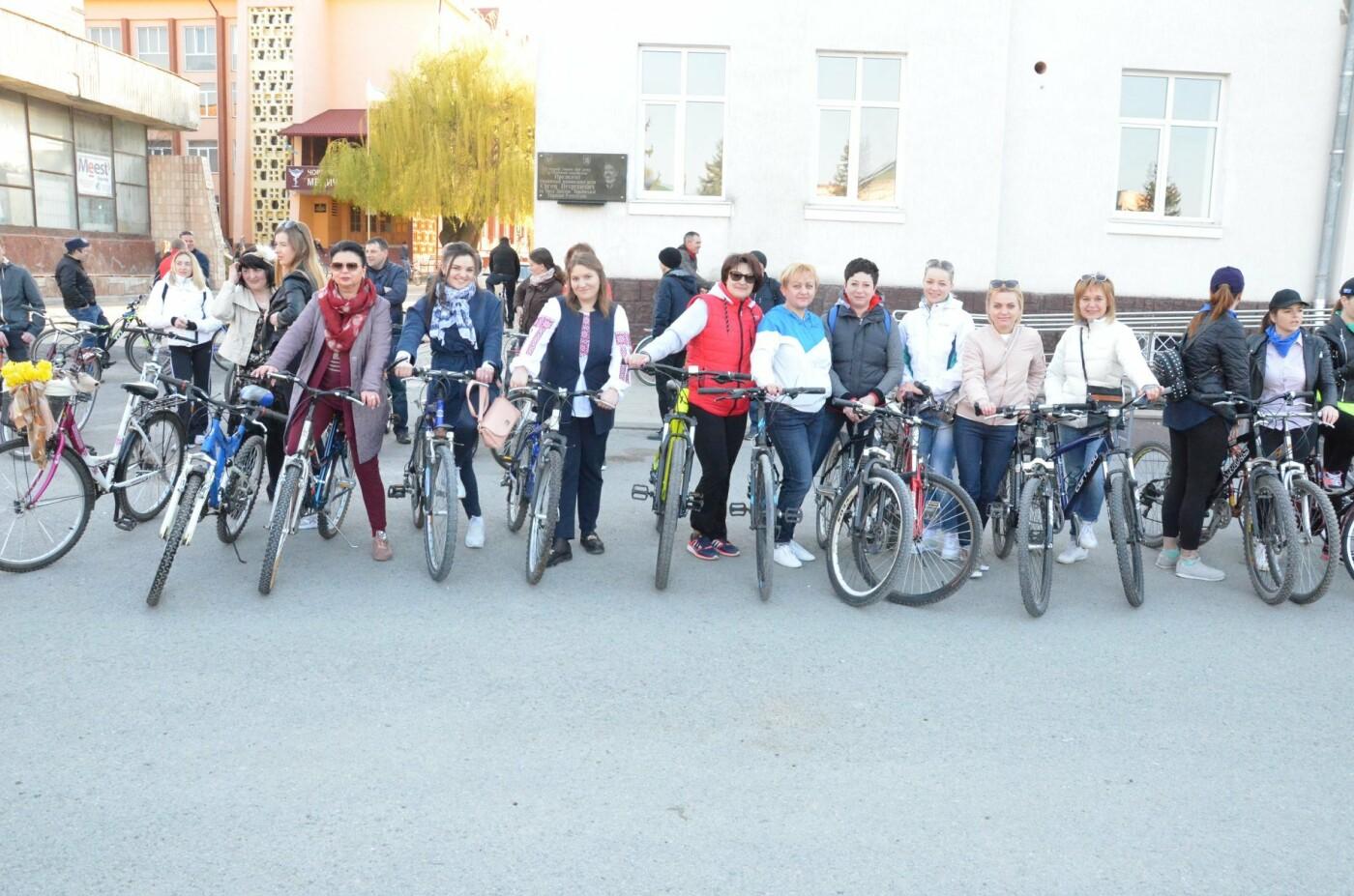 На Тернопільщині чиновники змінили свої автомобілі на велосипеди (ФОТОФАКТ), фото-5