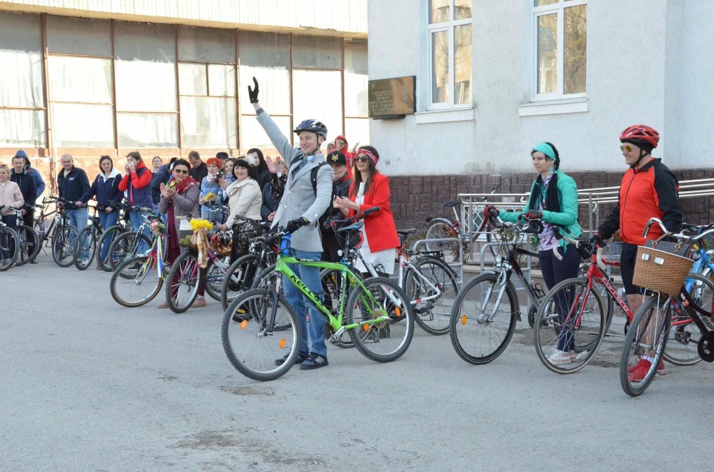 На Тернопільщині чиновники змінили свої автомобілі на велосипеди (ФОТОФАКТ), фото-15