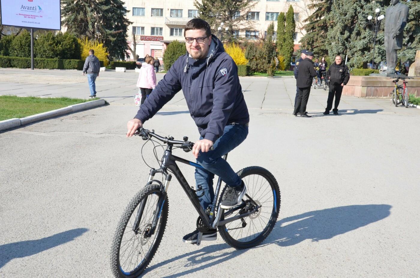 На Тернопільщині чиновники змінили свої автомобілі на велосипеди (ФОТОФАКТ), фото-22