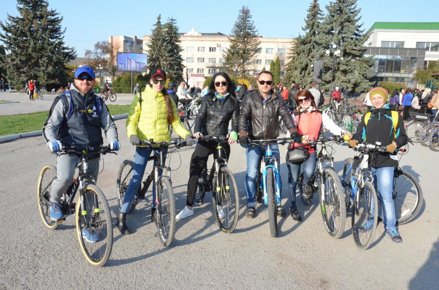 На Тернопільщині чиновники змінили свої автомобілі на велосипеди (ФОТОФАКТ), фото-12