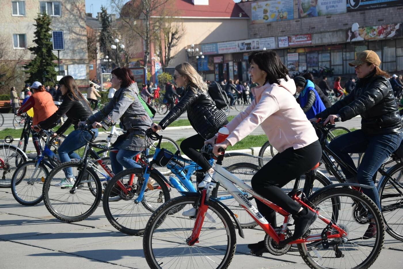 На Тернопільщині чиновники змінили свої автомобілі на велосипеди (ФОТОФАКТ), фото-2