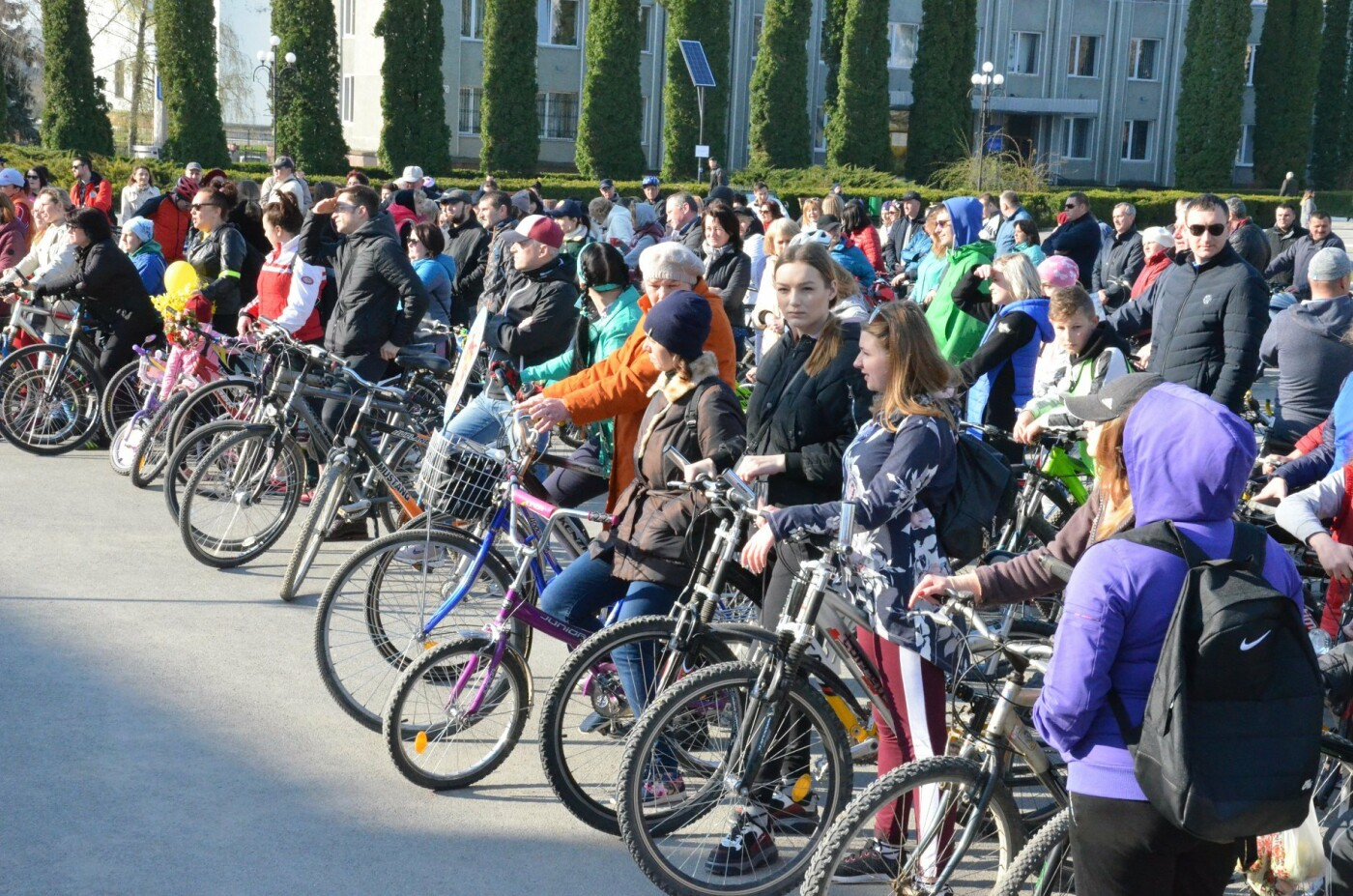 На Тернопільщині чиновники змінили свої автомобілі на велосипеди (ФОТОФАКТ), фото-18