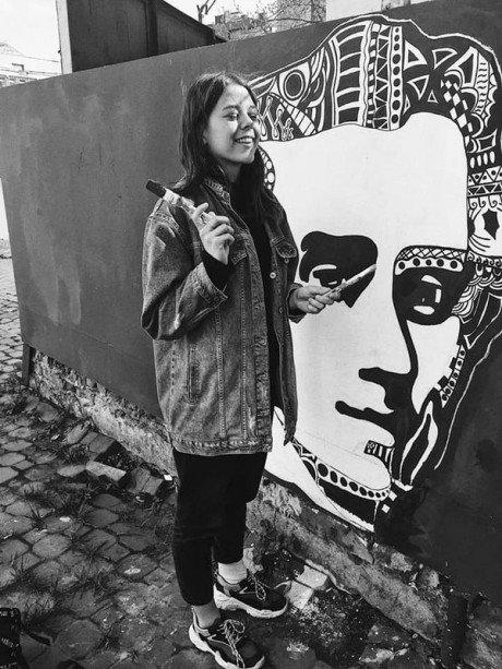 16-річна тернопільська школярка створила мурал-портрет Тараса Шевченка (ФОТО), фото-1