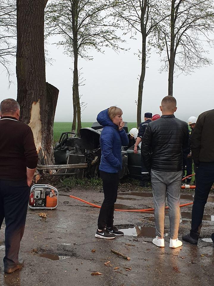 Жахлива аварія у Настасові: авто зім'яло наче консервну банку (фото), фото-3