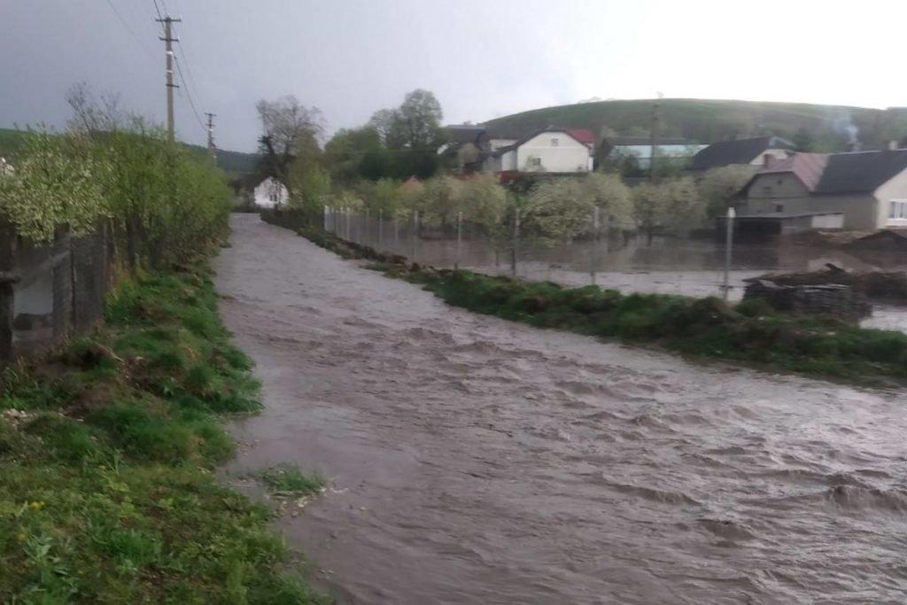 Негода наробила біди на Тернопільщині: затоплені двори, пошкоджений транспорт, евакуація людей (фото, відео), фото-4