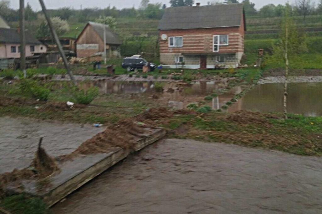 Негода наробила біди на Тернопільщині: затоплені двори, пошкоджений транспорт, евакуація людей (фото, відео), фото-5