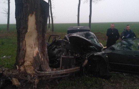 Жахлива аварія у Настасові: авто зім'яло наче консервну банку (фото), фото-1