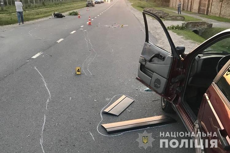 """""""Влетіла"""" у відчинену дверку авто: на Тернопільщині загинула водійка скутера (ФОТО), фото-3"""