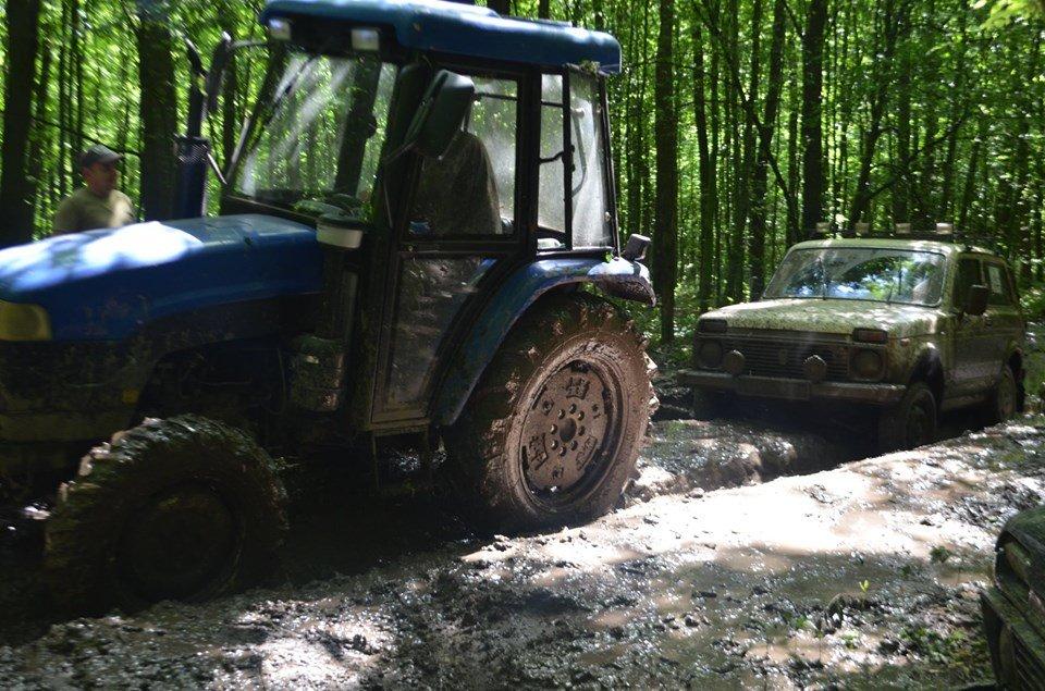 На Тернопільщині відбулося перше екстрім-ралі через болото, яри, бездоріжжя та з двома десятками позашляховиків  (ФОТОФАКТ), фото-6