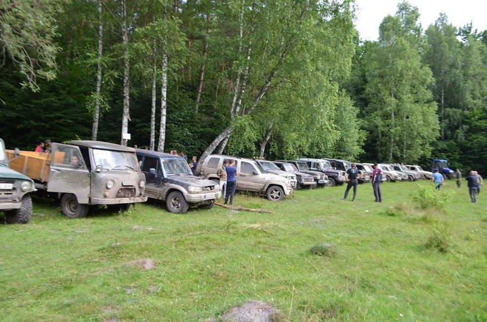 На Тернопільщині відбулося перше екстрім-ралі через болото, яри, бездоріжжя та з двома десятками позашляховиків  (ФОТОФАКТ), фото-2