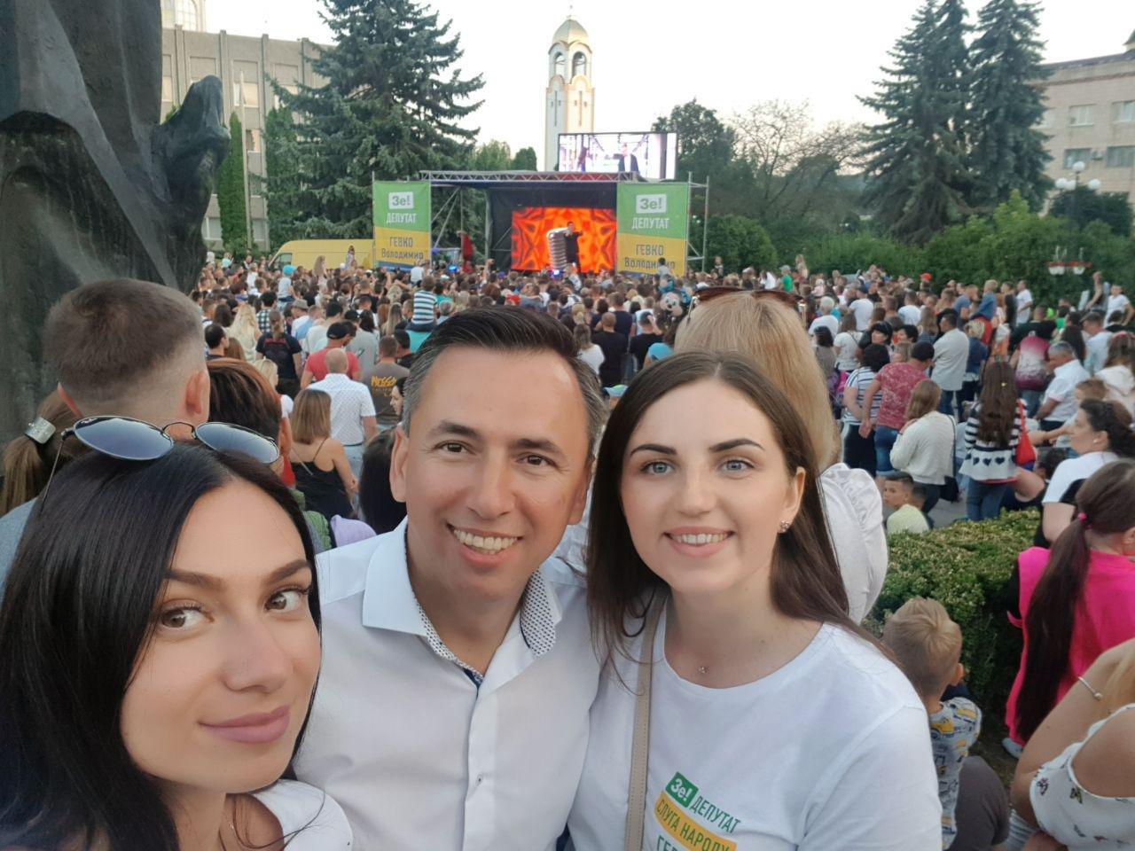 На зустрічі з кандидатом в депутати у 167-му окрузі Володимиром Гевком і його командою приходять тисячі краян (Фоторепортаж, відео) , фото-25