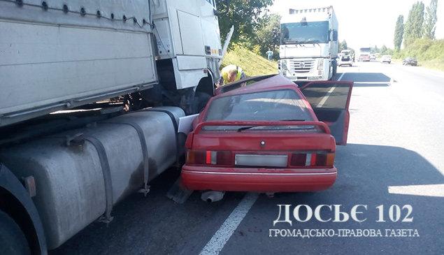 """""""Вантажівка потрощила легковик"""": з'явилися подробиці ДТП на Тернопільщині (ФОТО), фото-2"""
