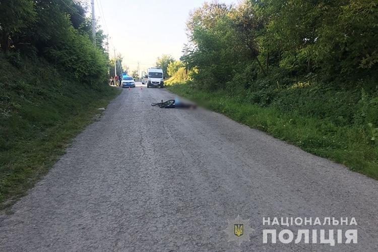 Жахлива ДТП на Тернопільщині: водій невідомого авто збив велосипедиста на смерть і втік з місця аварії (ФОТО), фото-1