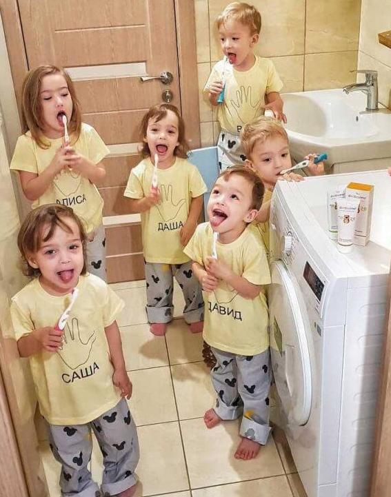 «Чоловік пішов, коли дітям було пів року, і більше нашого порога не переступав»: розповідь відважної матері, яка одночасно народила 5 діте..., фото-1