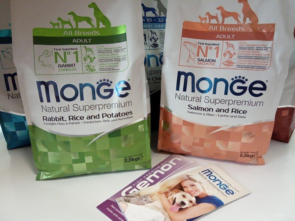 Корм для собак і кішок Monge, фото-1