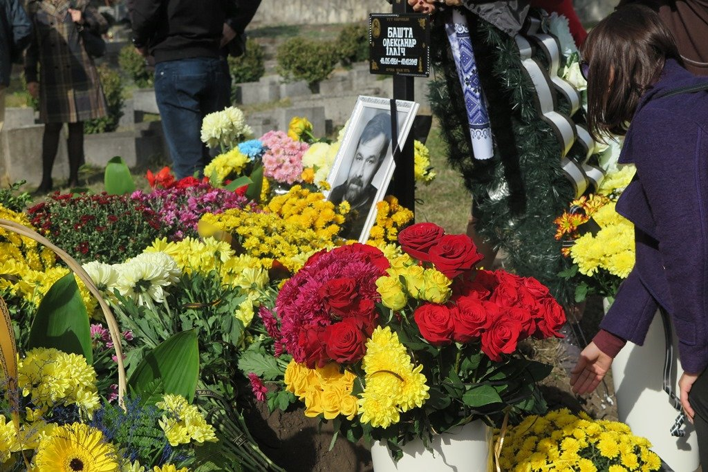 У Тернополі поховали депутата і громадського діяча Олександра Башту (ФОТО), фото-3