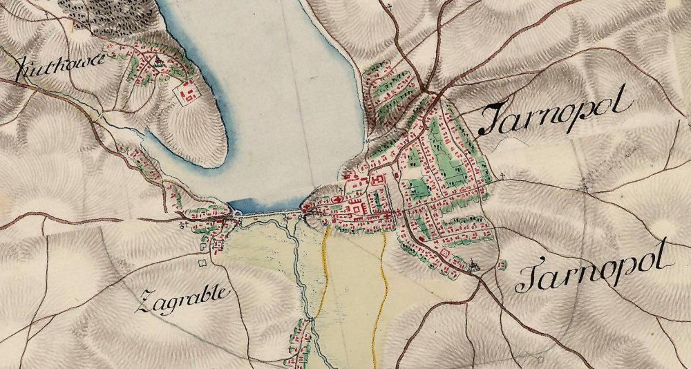 На відомій карті Фрідріха фон Міга показали Тернопіль у 18 столітті (ФОТО), фото-3