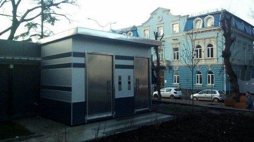 У Тернополі на вулиці Чорновола встановили громадський туалет (ФОТОФАКТ), фото-1