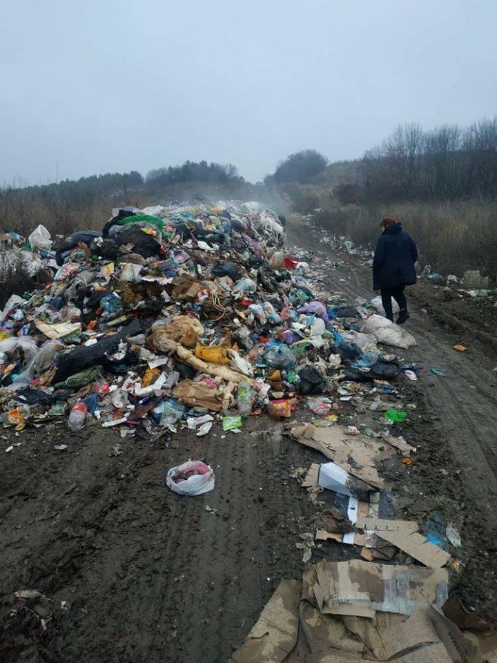 На Тернопільщину знову таємно вивезли гору незаконного сміття (ФОТОФАКТ), фото-2