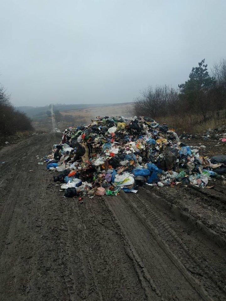 На Тернопільщину знову таємно вивезли гору незаконного сміття (ФОТОФАКТ), фото-3