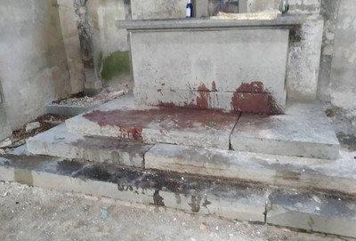Голова ягняти у храмі, сліди крові: на Тернопільщині завелись сатанисти? (ФОТО, 18+), фото-2