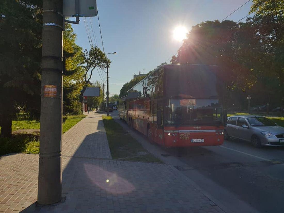 З Тернополя десятки міжнародних автобусів виїхали у столицю на акцію протесту (ФОТО), фото-1
