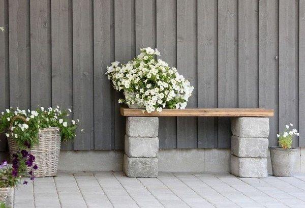 Бетонні елементи та меблі для саду – найновіший модний тренд, фото-1