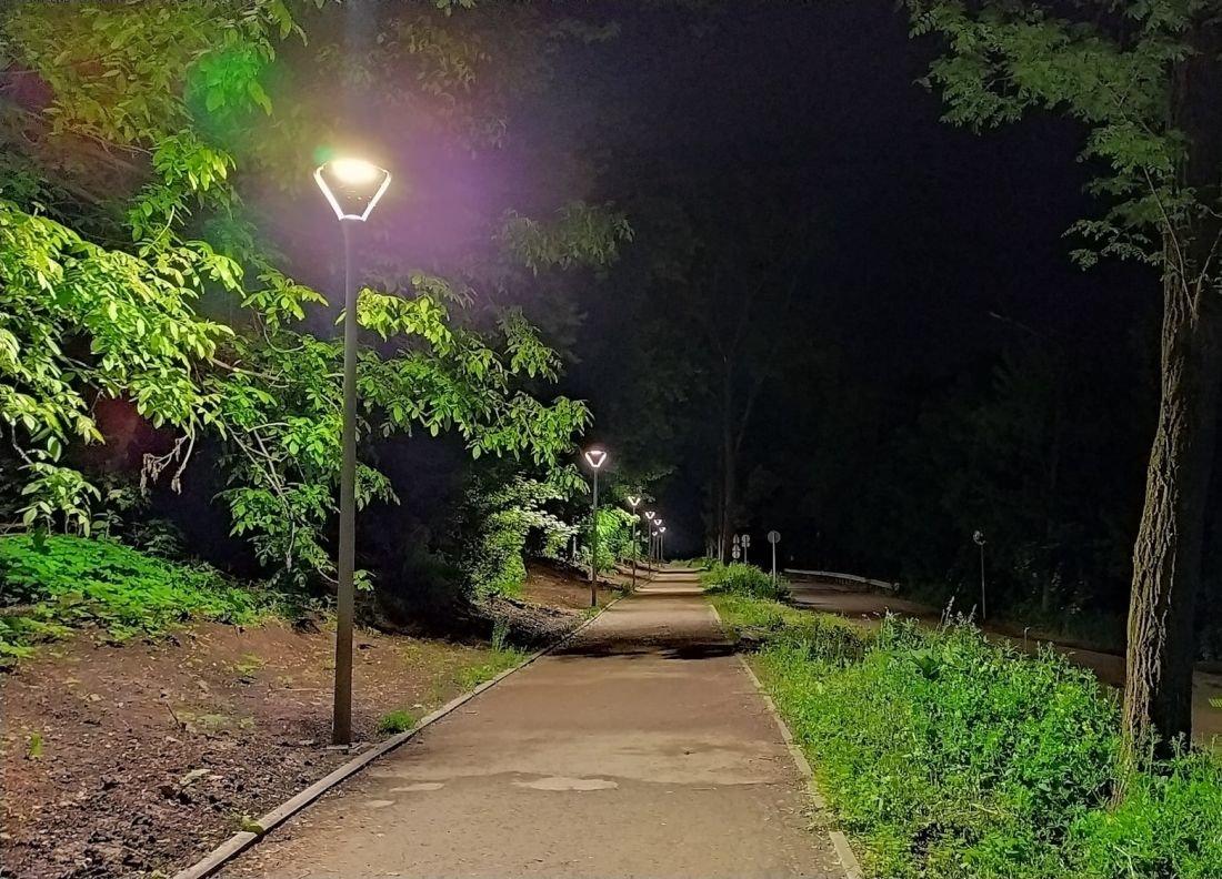На пішохідній доріжці в Кутківецькому лісі встановили ліхтарі (ФОТОФАКТ), фото-1