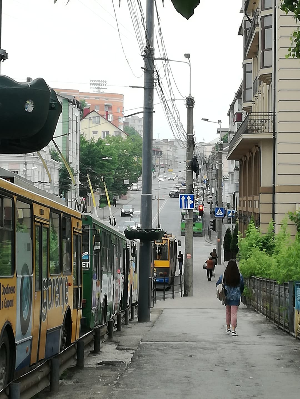 ДТП у Тернополі: утворився гігантський затор із тролейбусів (ФОТО), фото-2
