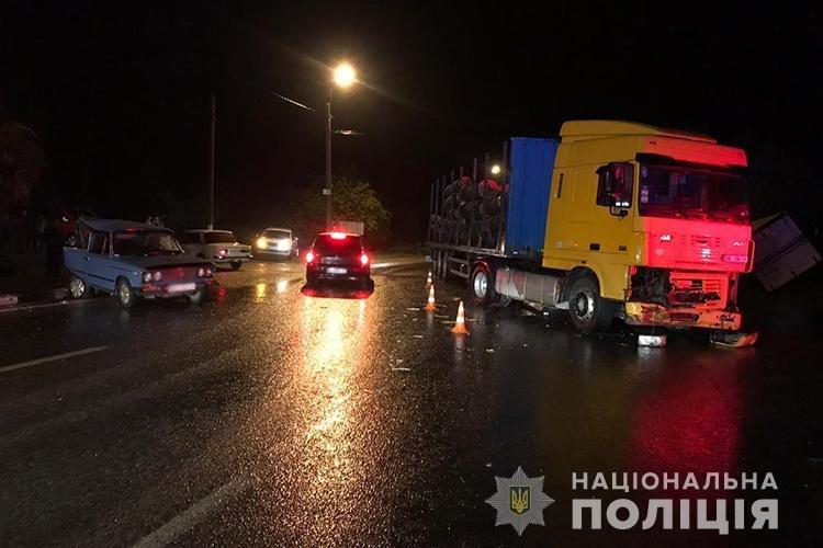 На Тернопільщині під час зливи зіткнулися чотири автомобілі  (ФОТО), фото-1