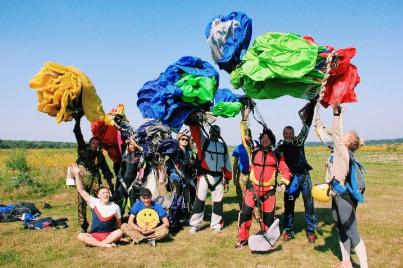 У 22 роки – 21 стрибок із парашутом!:  тернополянка Анастасія Дячук — про те, як «падати з неба», фото-3
