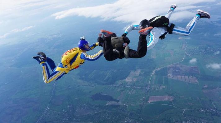 У 22 роки – 21 стрибок із парашутом!:  тернополянка Анастасія Дячук — про те, як «падати з неба», фото-4