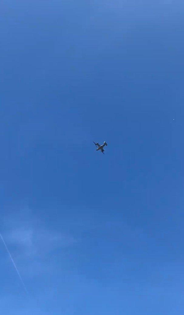 """""""Діти були в захваті"""": над Тернопільщиною пролетів унікальний літак (ФОТОФАКТ), фото-1"""