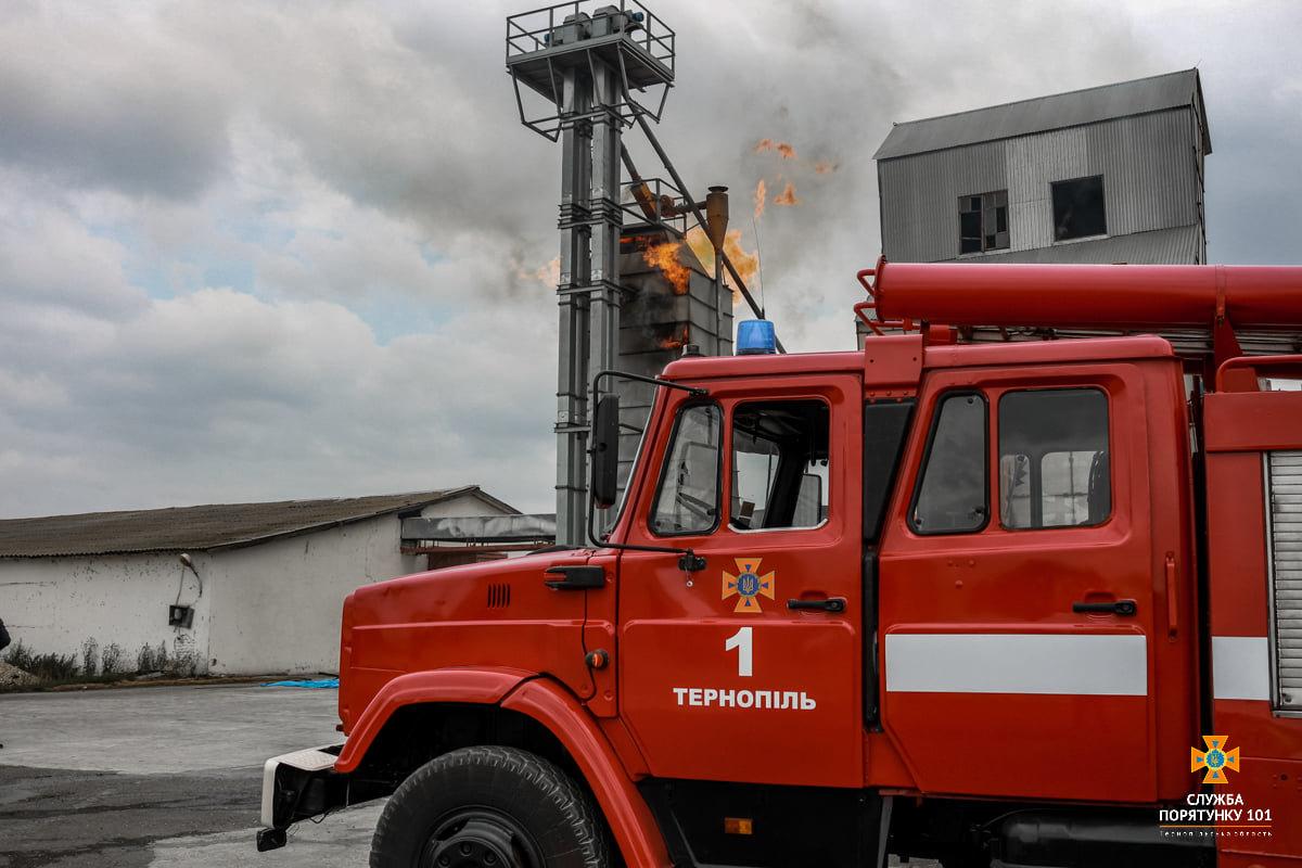 Масштабна пожежа поблизу Тернополя: вогнеборці гасили її понад 4 години (ФОТО), фото-9