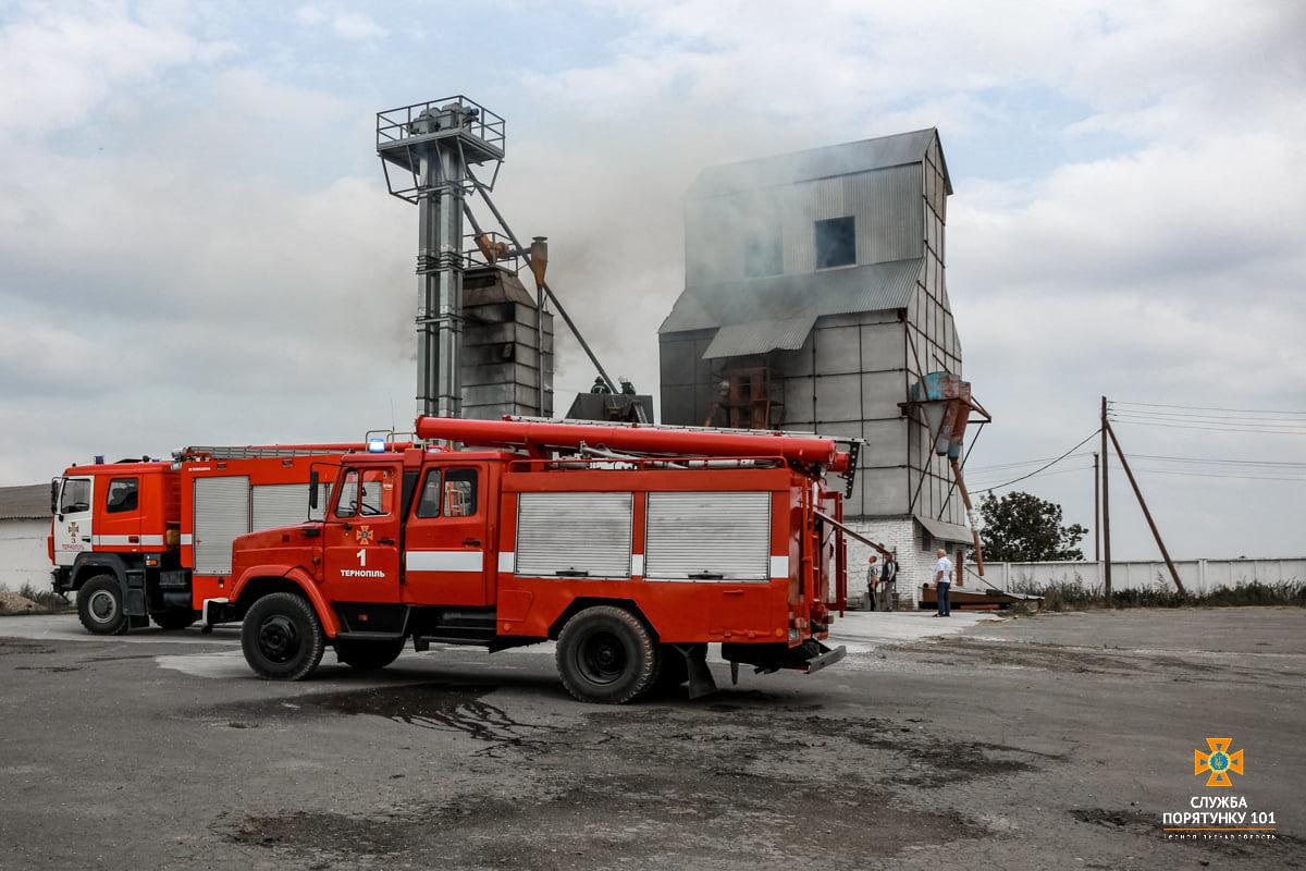 Масштабна пожежа поблизу Тернополя: вогнеборці гасили її понад 4 години (ФОТО), фото-7