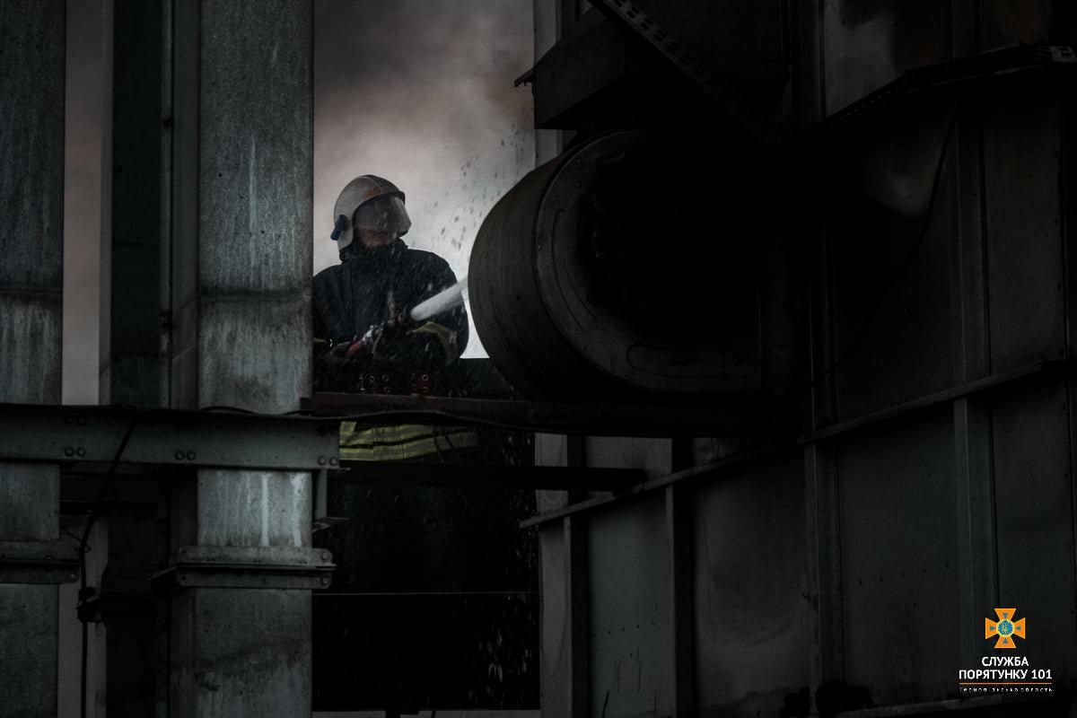 Масштабна пожежа поблизу Тернополя: вогнеборці гасили її понад 4 години (ФОТО), фото-8