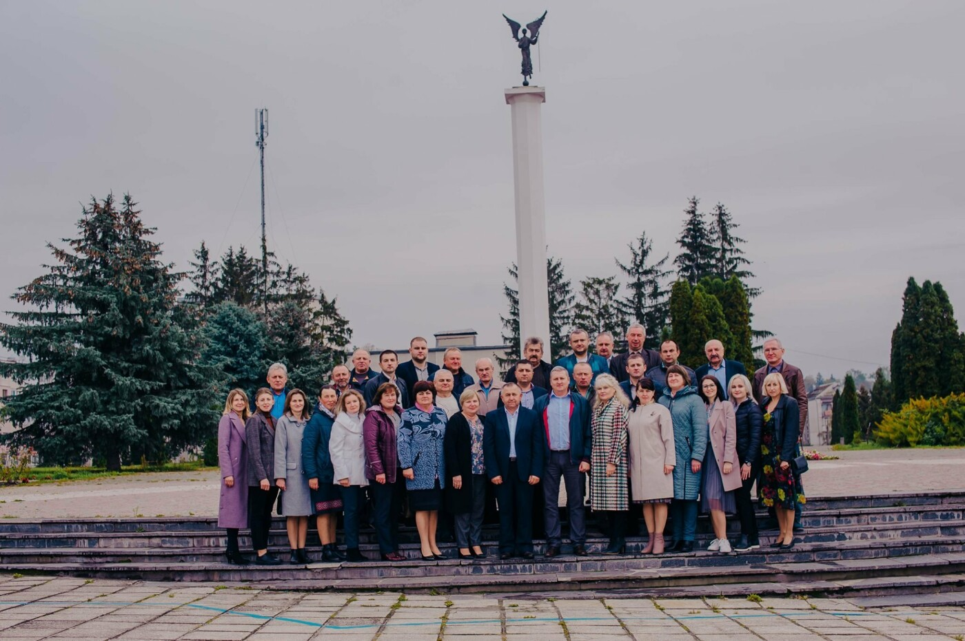На  Гусятинщині «Довіра» представила своїх кандидатів до місцевих рад (фото), фото-1