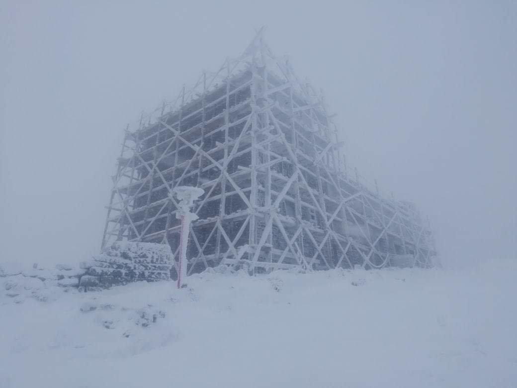 Сніг в Карпатах, Чорногірський гірський пошуково-рятувальний пост