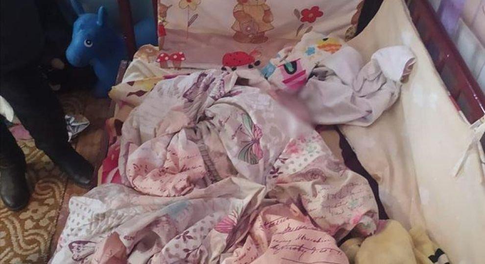 Батько забив до смерті 4-місячного сина через...неприязнь (ФОТО з місця злочину) , фото-2