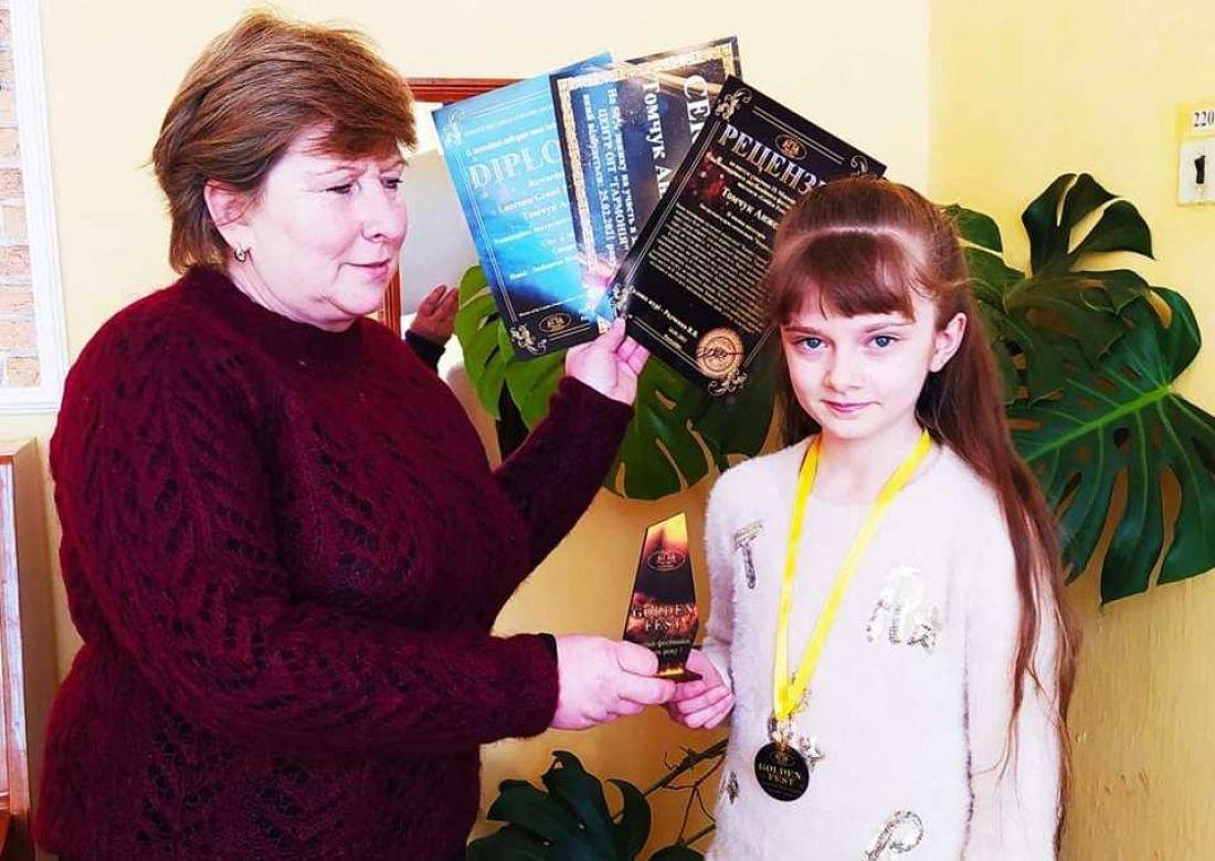 На міжнародному фестивалі школярка з Тернопільщини здобула гран-прі (ФОТО), фото-1