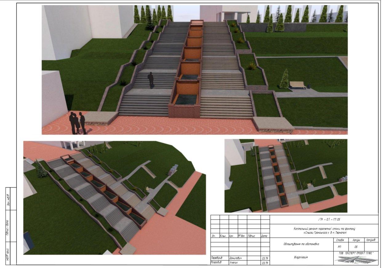 Спеціалісти «Експерт Проект Плюс» розповіли про особливості проектування ремонту фонтану «Сльози Гронського», фото-6