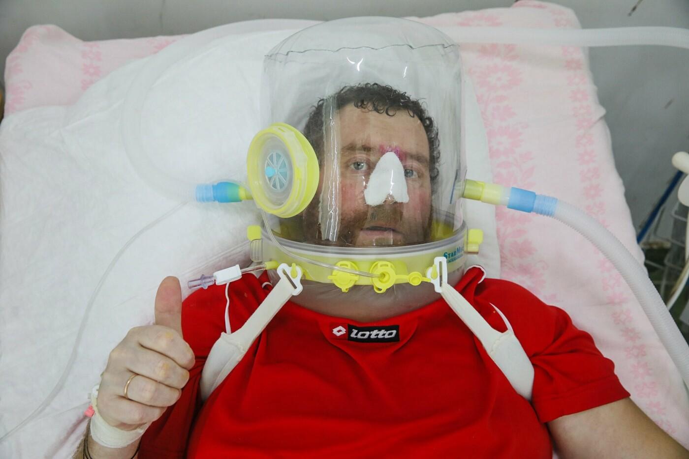 """""""Живих від мертвих відмежовує фіранка"""": моторошні кадри з лікарні із хворими на COVID-19 (ФОТО, ВІДЕО), фото-1"""