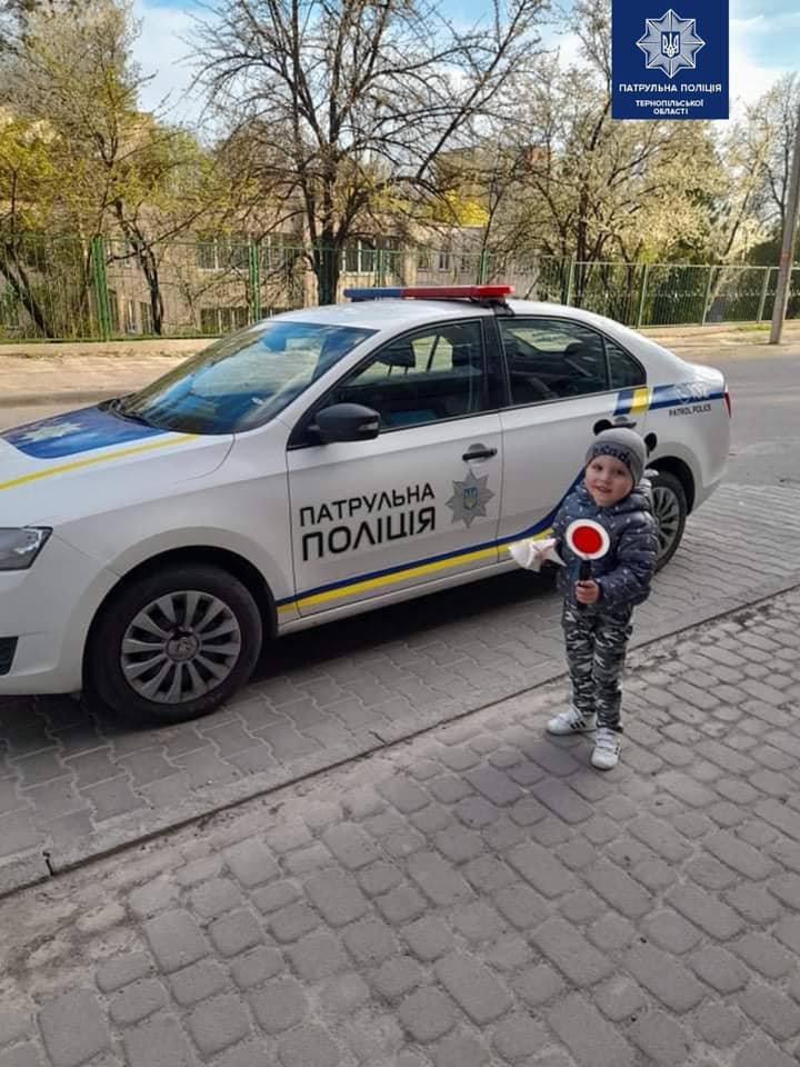 В Тернополі патрульні здійснили мрію хлопчика (ФОТО) , фото-1
